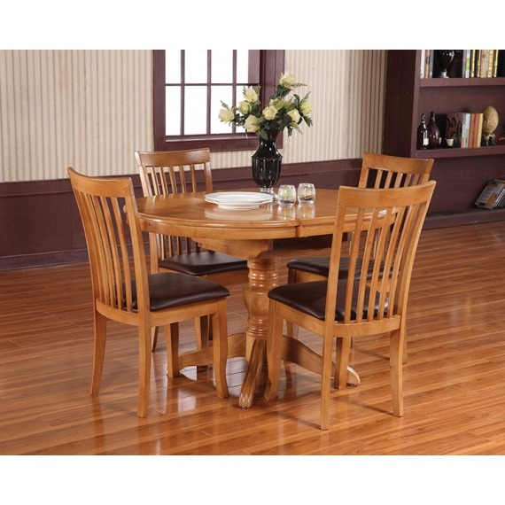 Willis Round Extending Dining Set