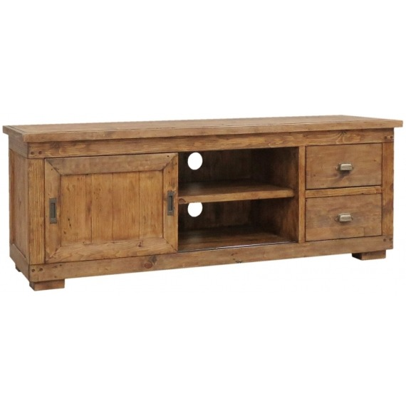 Camrose Reclaimed Pine TV Cabinet