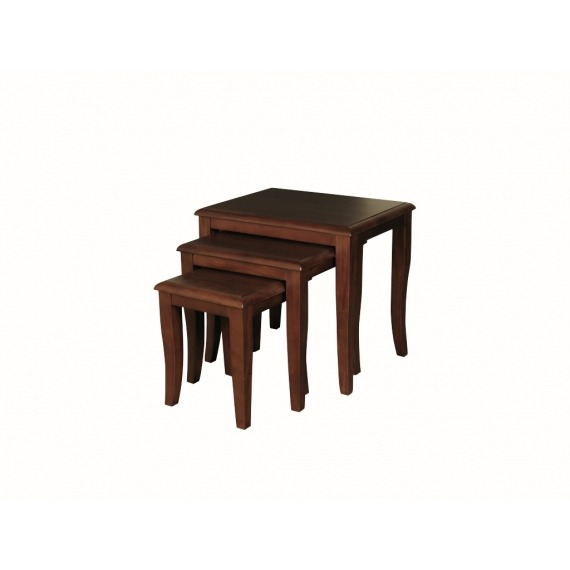 Clarion Mahogany Nest of Tables