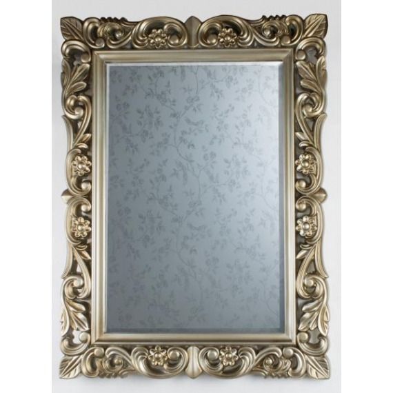Ornate Leaf Wall Mirror