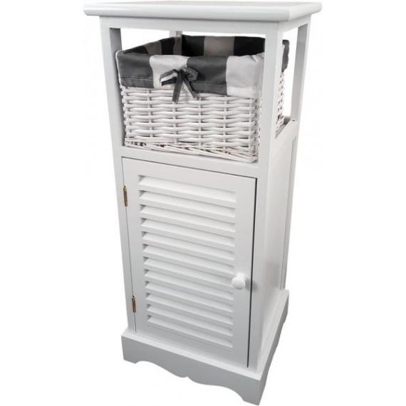 Melody White Slim Cabinet