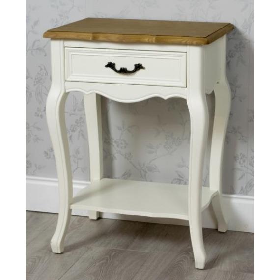 Bouvard Side Table with Shelf