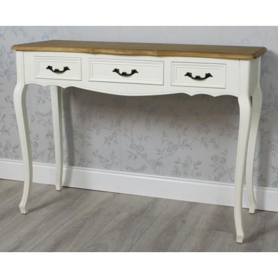 Bouvard 3 Drawer Console Table