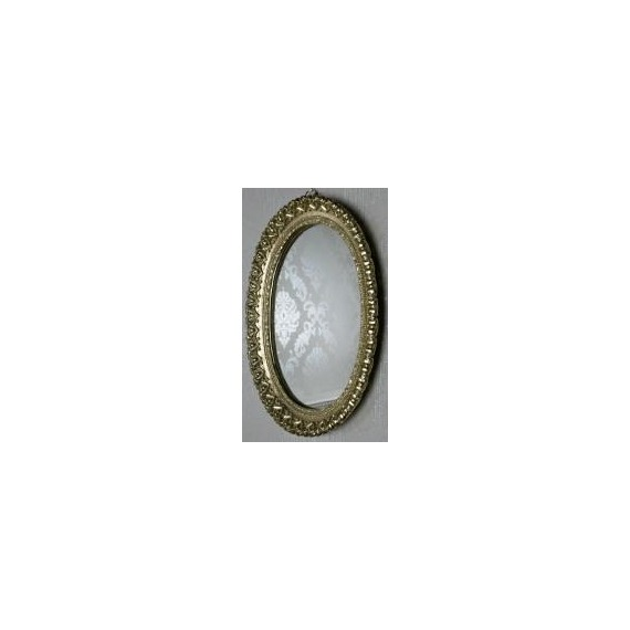 Bailey Ornate Oval Mirror