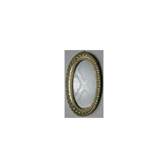 Bailey Ornate Oval Mirror