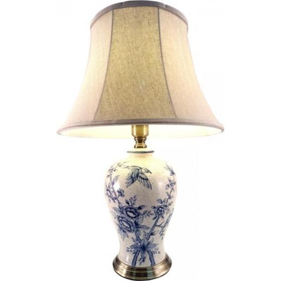 Ceramic Lamp With Bird Design