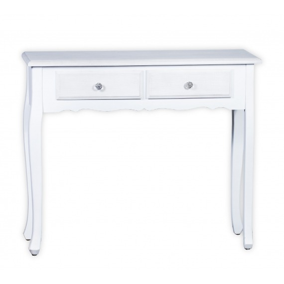 Paris White & Grey Console/Hall Table