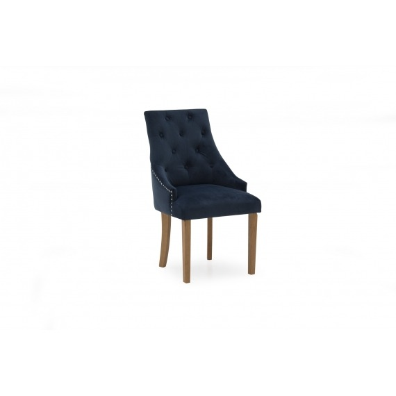 Cannes Upholstered Chairs with Studded Trim