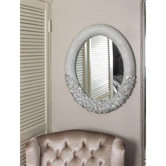 Petra Silver Mirror