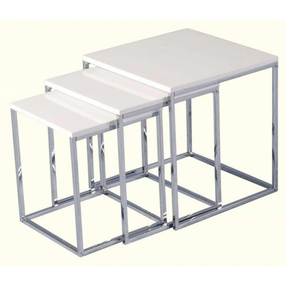 High Gloss Nesting Tables