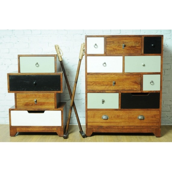 Vintage Mixed Chest
