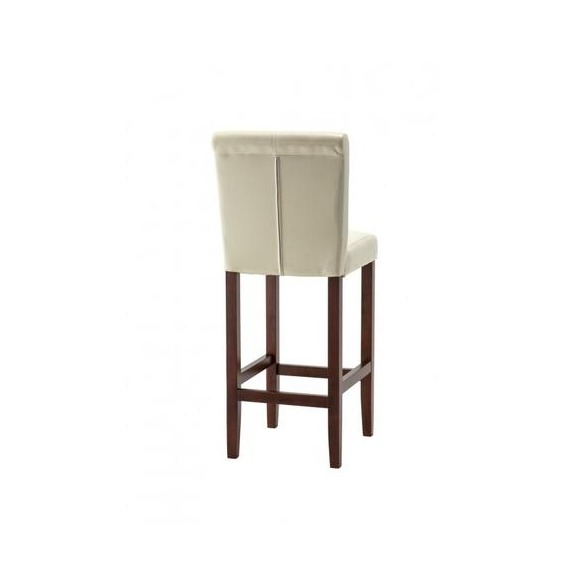 faux leather bar counter stool. Black Bedroom Furniture Sets. Home Design Ideas