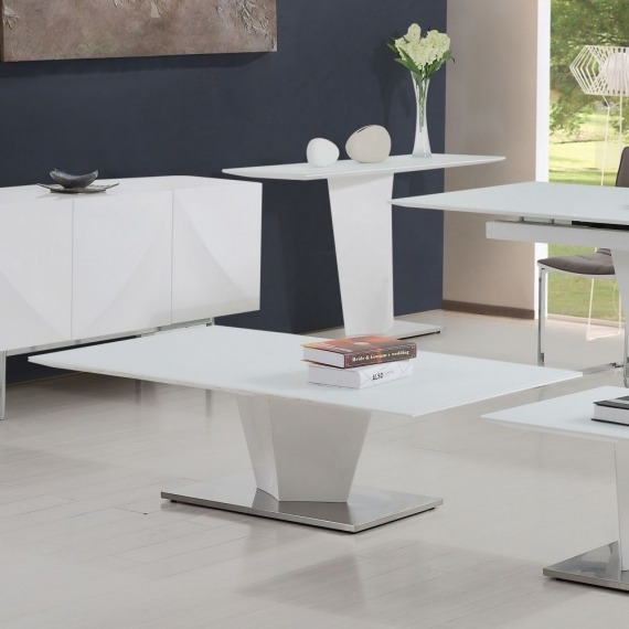 Dusk White Gloss Coffee Table