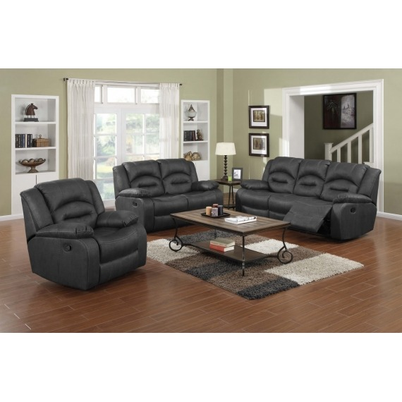 Novella Fabric 3 Seater Sofa