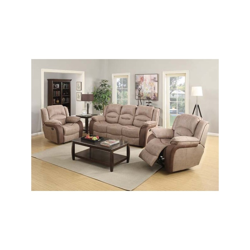 Ashley Fabric 2 Seater Reclining Sofa