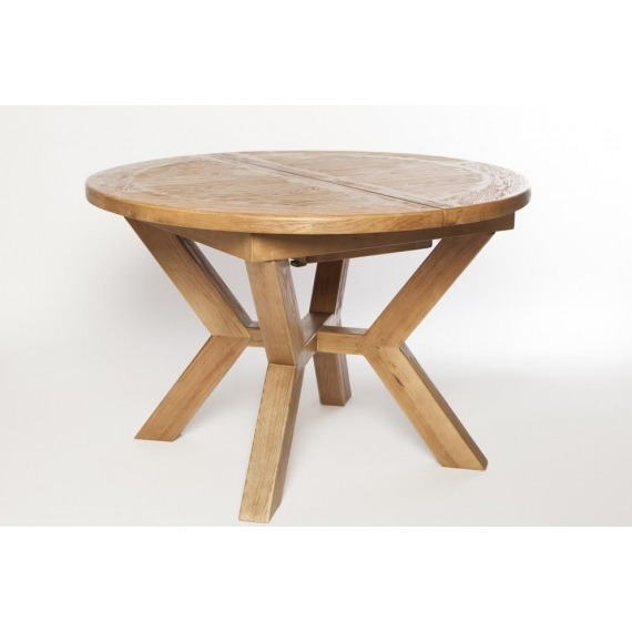 Aylesbury Large Round Extending Dining Table