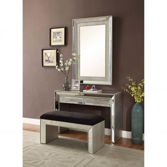 Sofia Mirrored Console Table