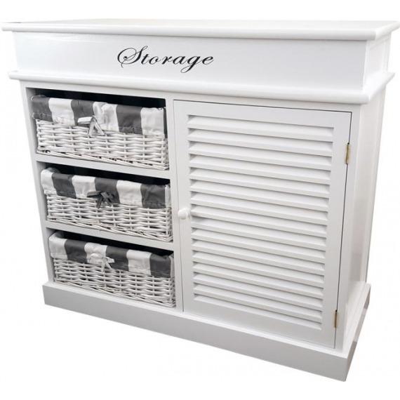 sc 1 st  Rabbettes Furniture u0026 Interiors & Melody 3 Drawer Storage Unit