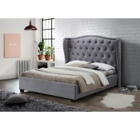 Tufted Fabric Bed Frame (Double)