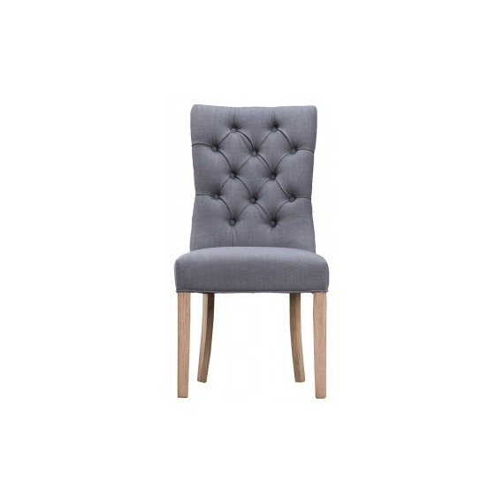 Felix Curved Button Back Chair