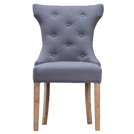 Melia Winged Button Back Chair