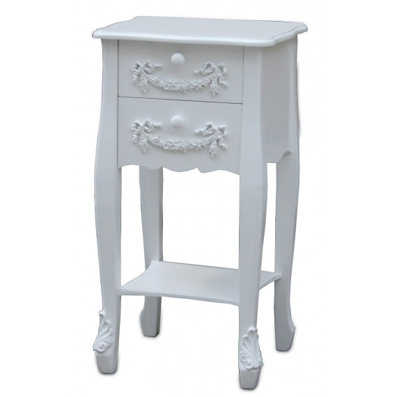 Victoria 2 Drawer Side Table