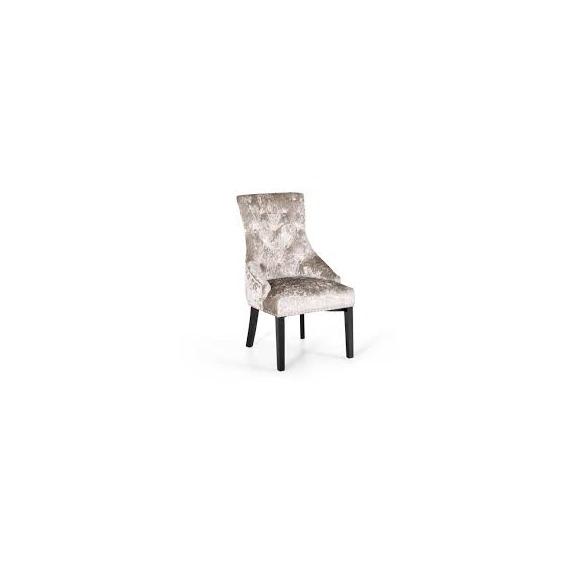 Italia Crushed Velvet Chair with Knocker