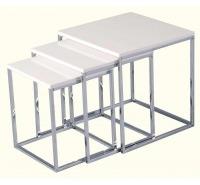 High Gloss Nesting Tables