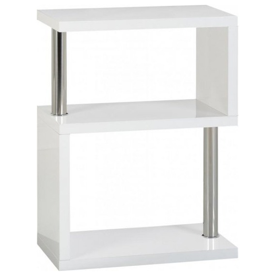 High Gloss 3 Shelf Unit/Bookcase