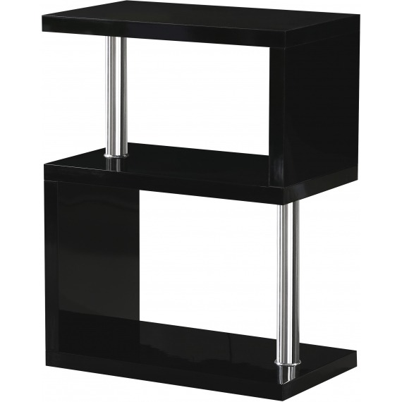 High Gloss 3 Shelf Unit/Bookcase