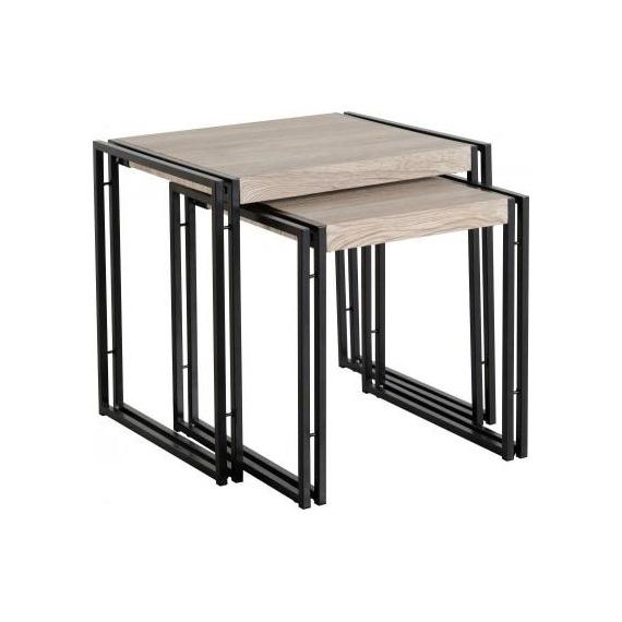Loft Industrial Nesting Tables