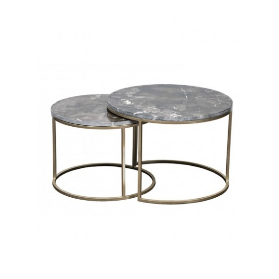 Deco Set of 2 Coffee Tables