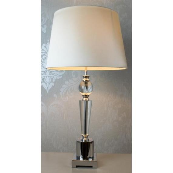 Charlotte Glass Table Lamp 66cm