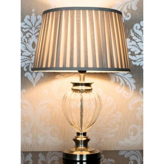 Luna Glass Table Lamp 74cm