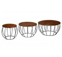 3 Piece Evergreen Tables