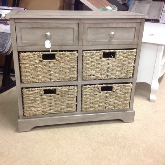 Pearl Storage Unit with Baskets