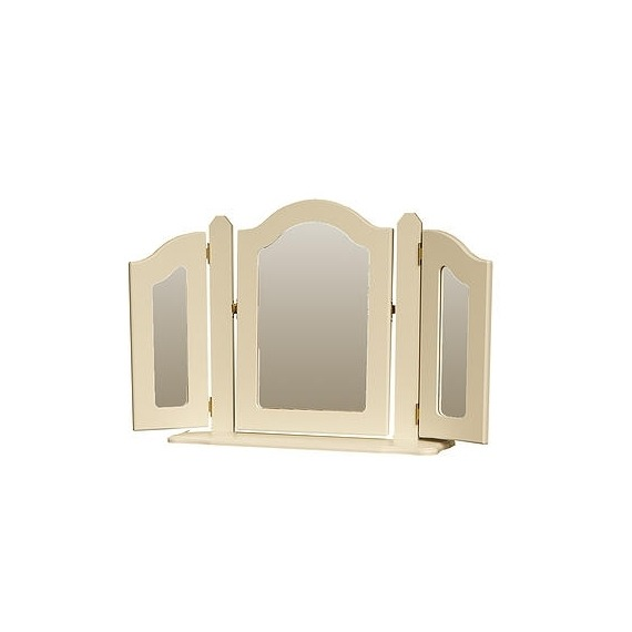 Anna Triple Ornate Mirror