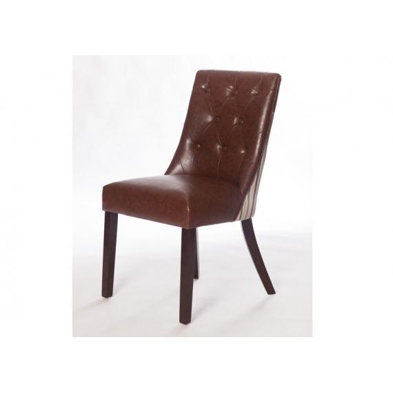 Alexa Stripe Back Chair