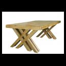 Cologne 2.7m Dining Cross Leg Table