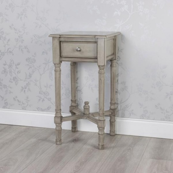 Pearl Accent Side Table