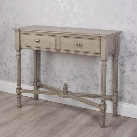 Pearl 2 Drawer Console Table