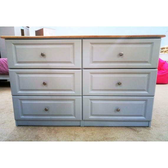 Hannah 6 Drawer Wide Chest