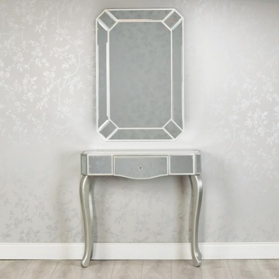 Mirrored Console & Mirror Set (Special Offer)