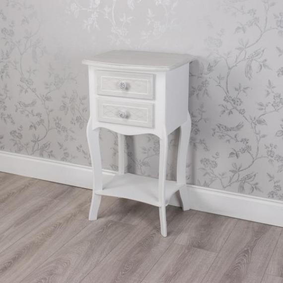 Bramley Grey & White 2 Drawer Unit