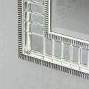 Kara Silver Accent Wall Mirror