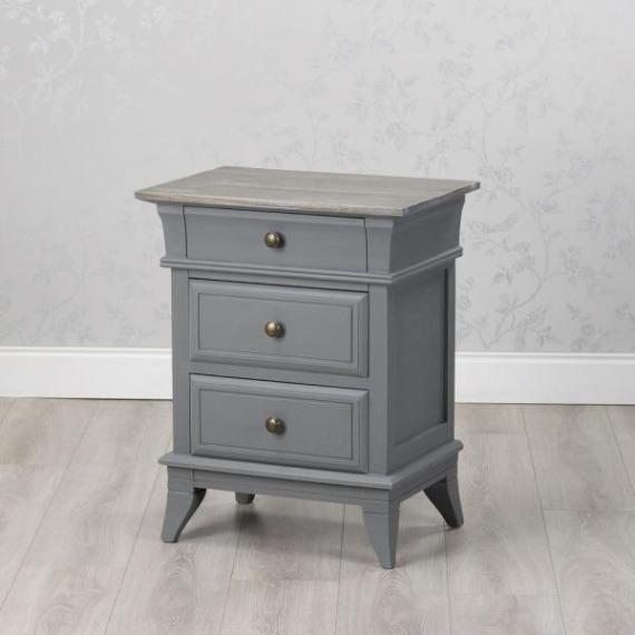 Basildon 3 Drawer Side Table