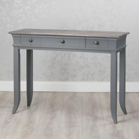 Basildon Large 3 Drawer Console Table