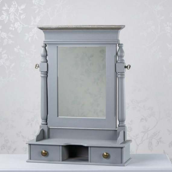 Basildon Vanity Mirror with Drawer Storage