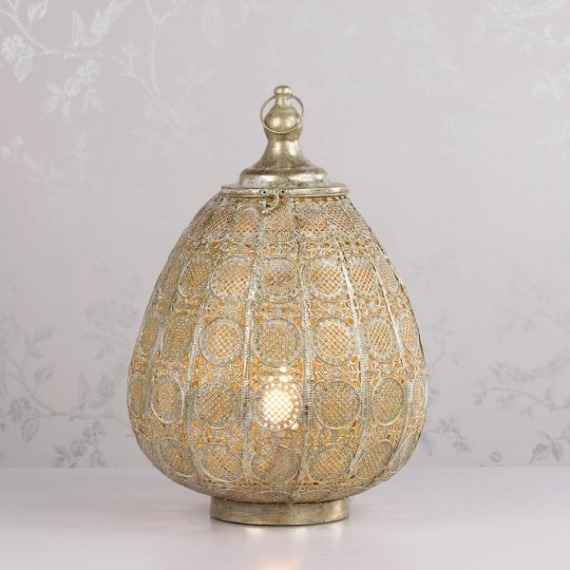 Petunia Bulbous Lamp 50cm
