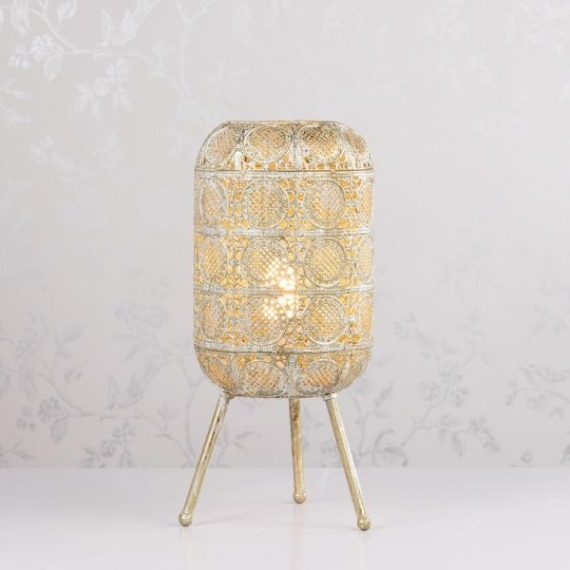 Petunia Tripod Table Lamp 45cm